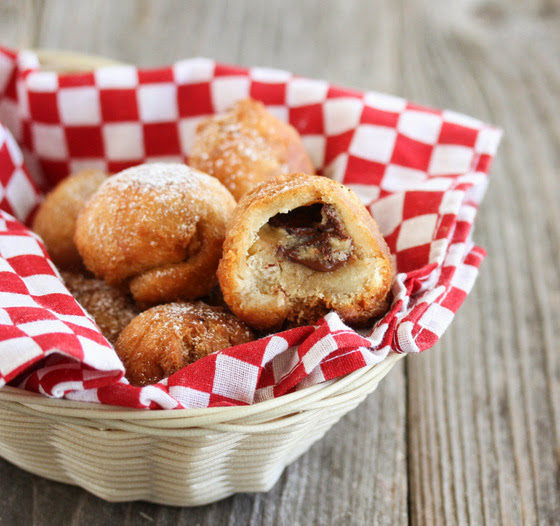 a basket of fried cookie dough