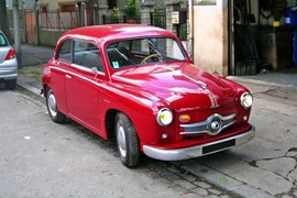Panhard 1952 Scarlette