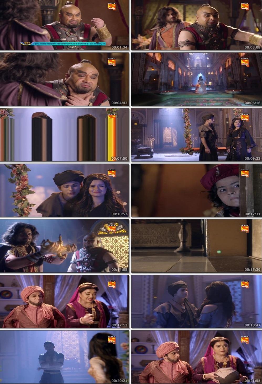 Screenshots Of Hindi Show Aladdin – Naam Toh Suna Hoga 2019 Episode 285 300MB 720P HD
