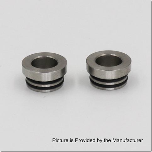 authentic iwodevape 810 to 510 drip tip adapter for rda rta silver stainless steel 125mm diameter 2 pcs thumb%255B1%255D - 【海外】「Vapeスピナー510マウント」「Kangertech KTOGOキット」「YOKO VAPE TRX167」「Teslacigs Hawkeye RDA」「Oumier Maximus Max RDTA」