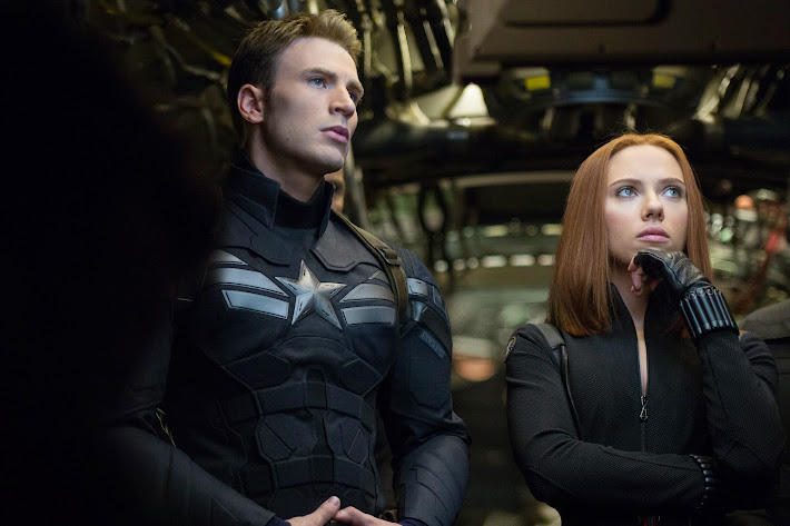 Captain America and the Black Widow #CaptainAmerica The Winter Soldier
