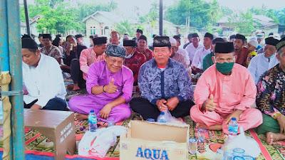 Kades Siabu dan KUA Salo Hadiri Acara Khotmil Qur'an TPQ Al-yaqin Sungai Abang Desa Siabu