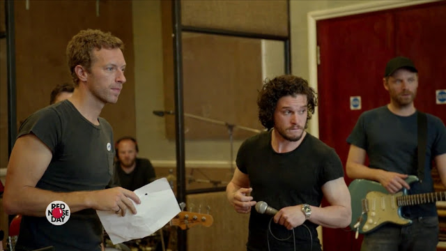 Coldplay Game of Thrones The Musical Red Nose Day