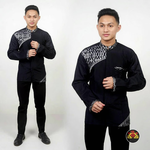 Kumpulan Model Batik Kombinasi Modern Masion Tv