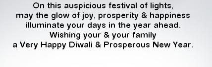 English Diwali SMS Wallpapers