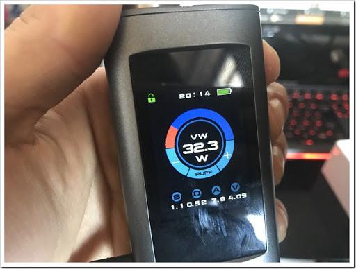 IMG 1581 thumb%25255B2%25255D - 【MP3プレイヤー搭載MOD】Joyetech OCUKAR Cレビュー!電話の代わりにVAPEを搭載した新時代MOD!タッチパネルは新時代のブームとなりうるか?【ガジェット風/万歩計/カレンダー】