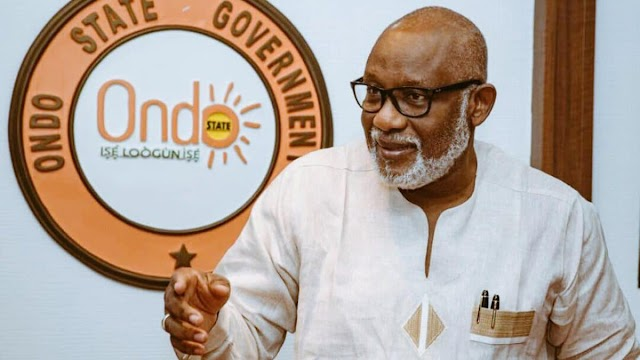Akeredolu  Unveils Running Mate For October 10 Gubernatorial Election
