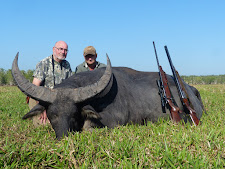 Mr Neale, USA with a big bodied floodplain bull with a good rack!