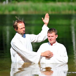 Romm ja Liisi ristimine ning kogudusse õnnistamine