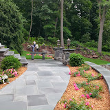 Upper Path and Plantings