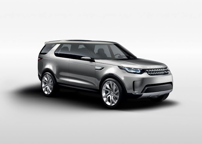 NEW YORK 2014 - Land Rover Discovery Vision Concept [VIDEO]