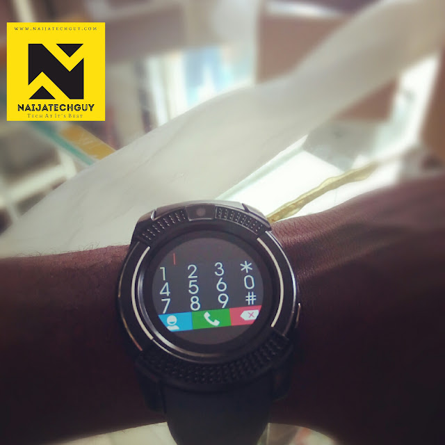 v8 smartwatch review this watch does almost everything. Black Bedroom Furniture Sets. Home Design Ideas