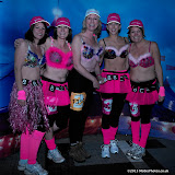 WWW.ENTSIMAGES.COM -   Jo Kent, Sarah Jane Bungay, Sally Taylor, Chrissy Sturt and Emily Hudson of BBC South  taking part in    The MoonWalk London May 11th 2013                                                   Photo Mobis Photos/OIC 0203 174 1069