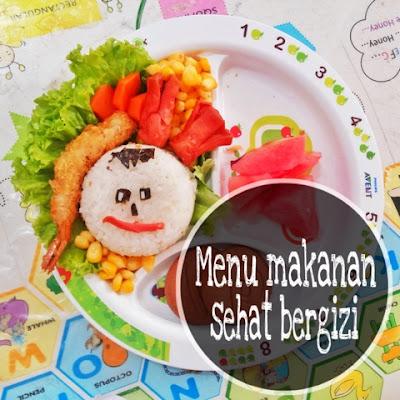 menu makanan bento anak