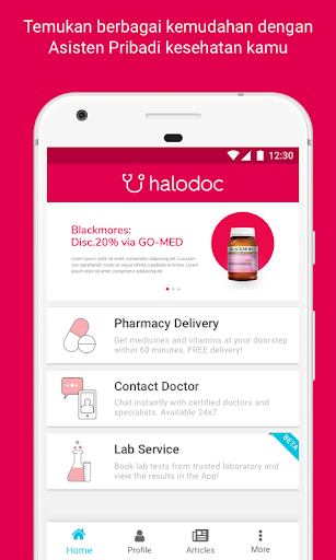 Halodoc - Doctors, Medicines & Lab test screenshot for Android