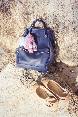 Traveling with vintage style, Anello Mini Backpack | Lavender & Twill