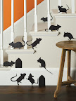 Mouse silhouettes (two sets of these, too!)