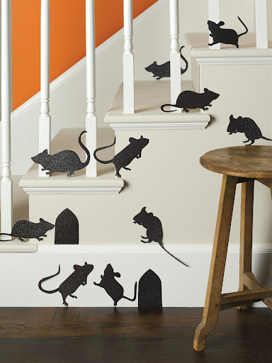 Mouse silhouettes (2 sets of these too!)