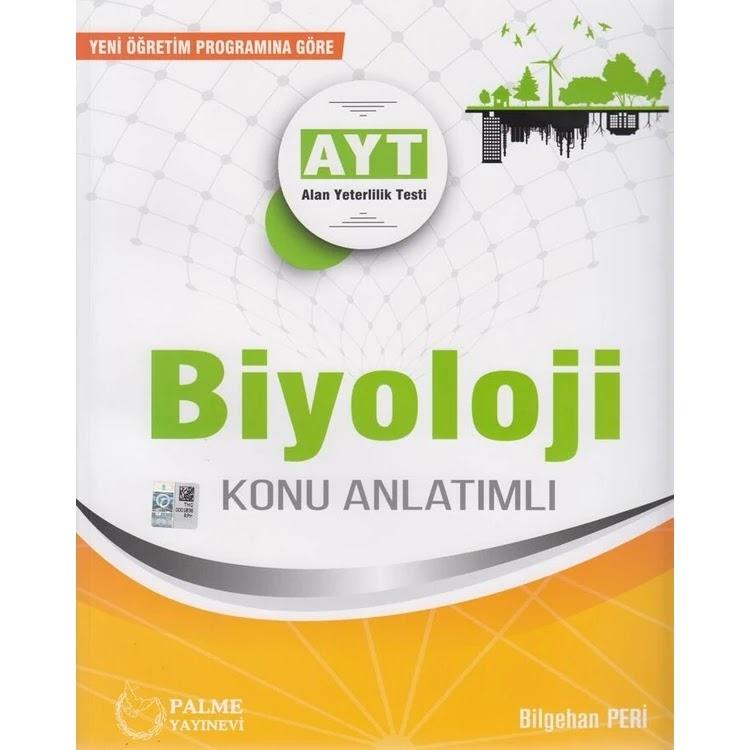 Palme Yayınları - AYT Biyoloji - Konu Anlatım Kitabı