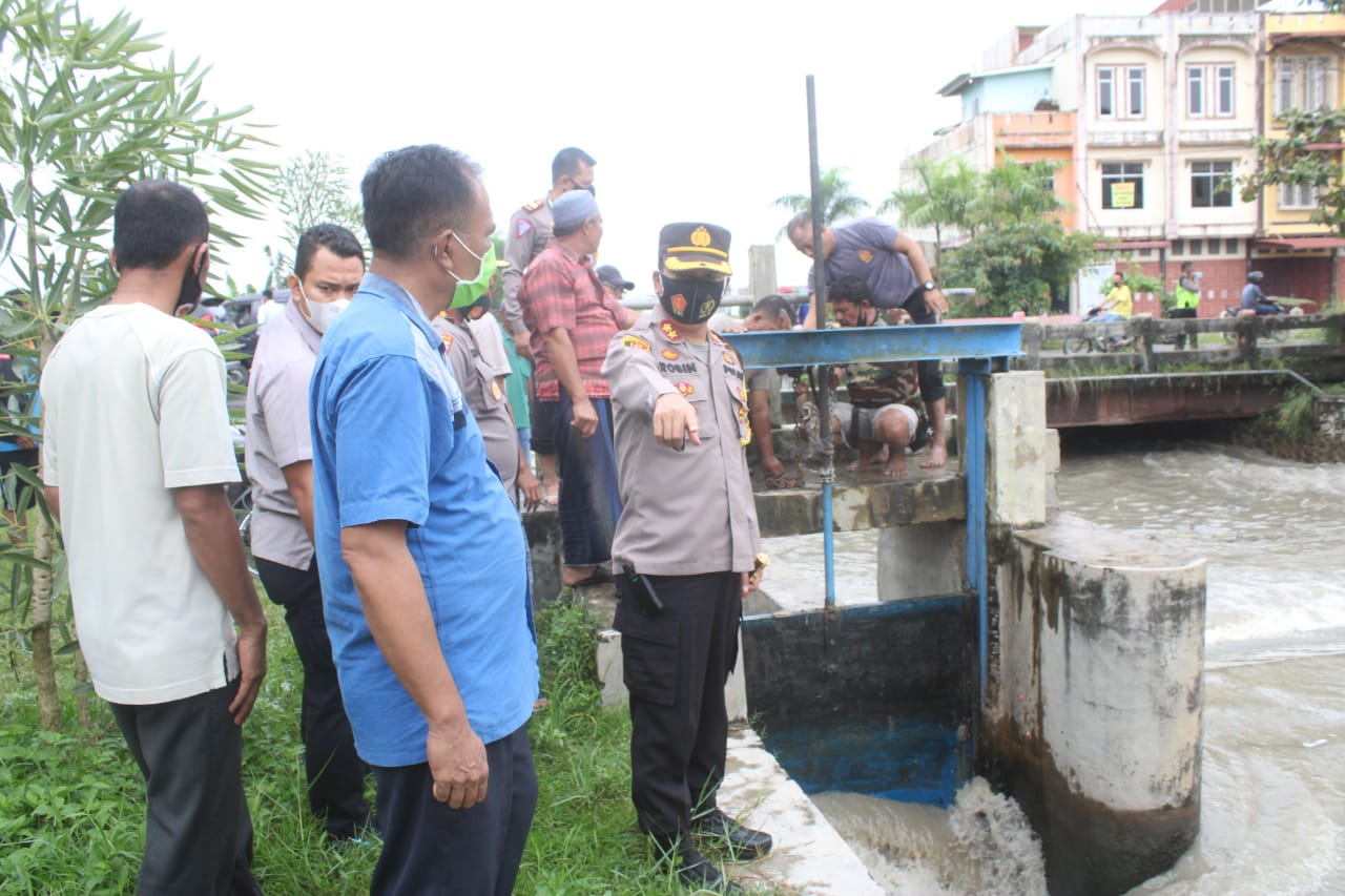 Kapolres Serdang Bedagai Cek Ruang Tahanan Polsek Perbaungan dan DAM Sungai Baungan