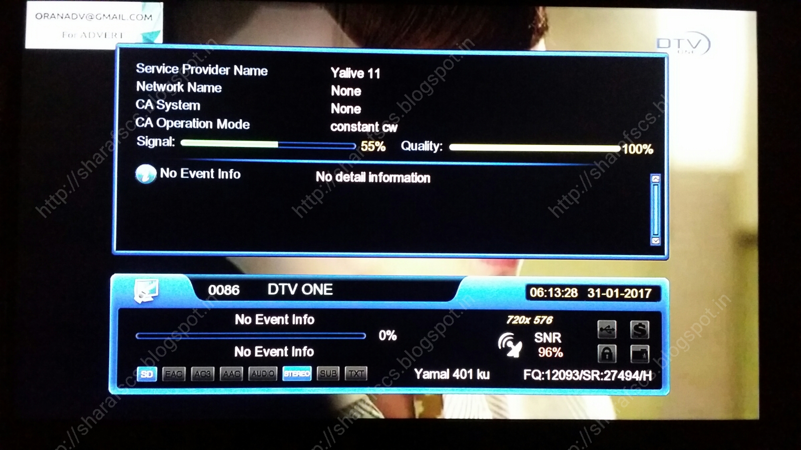 Yahsat 52 frequency
