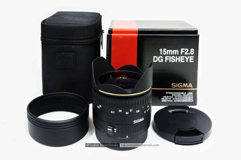 Sigma 15mm F2.8 DG