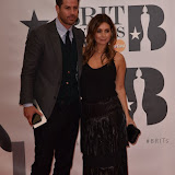 OIC - ENTSIMAGES.COM - Jamie Redknapp and Louise Redknapp  at the  The BRIT Awards 2016 (BRITs) in London 24th February 2016.  Raymond Weil's  Official Watch and  Timing Partner for the BRIT Awards. Photo Mobis Photos/OIC 0203 174 1069