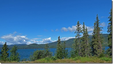 Kinaskan Lake, Cassiar Highway
