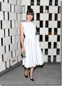 Selma Blair, (wearing Bottega Veneta)