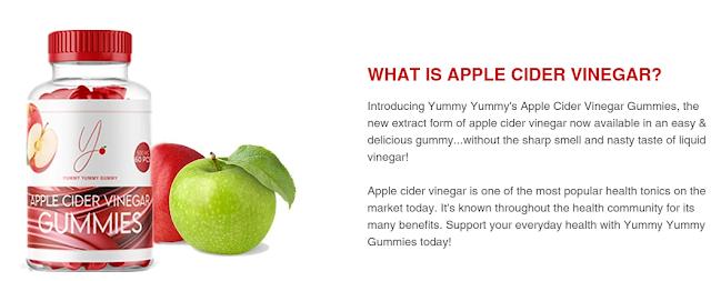 Yummy Yummy Apple Cider Vinegar Gummies - PromoSimple Giveaways Directory
