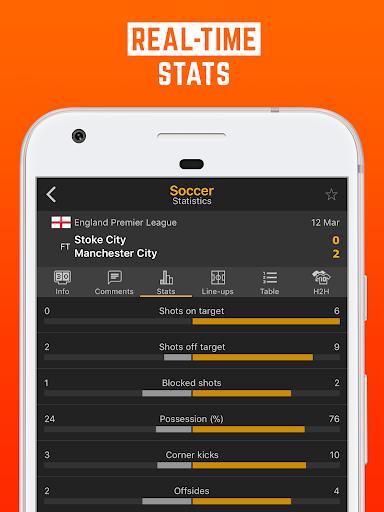 LiveScore: Live Sport Updates 3.0.9 screenshots 4