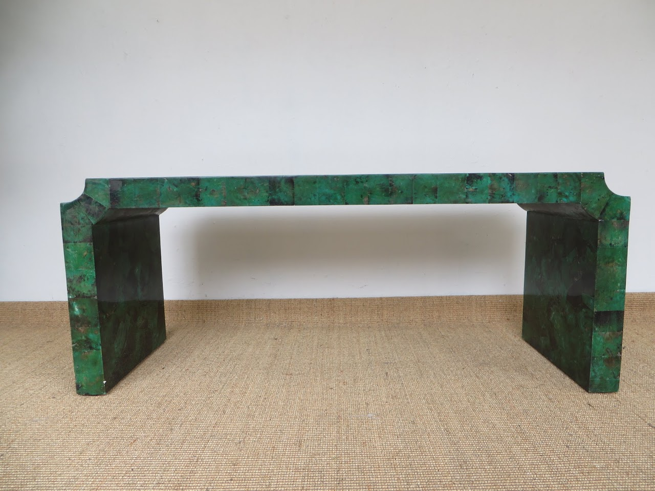 Malachite-Look Coffee Table