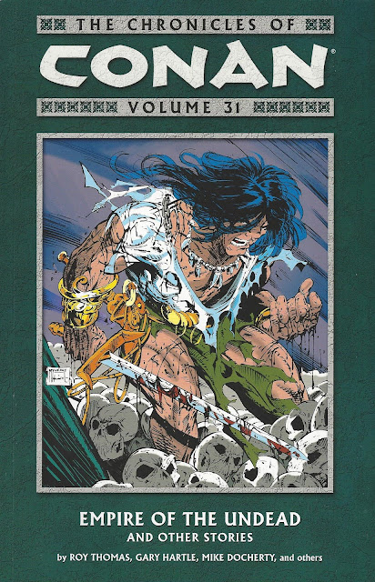 Chronicles of Conan, v. 31: Empire of the Undead and Other Stories cover