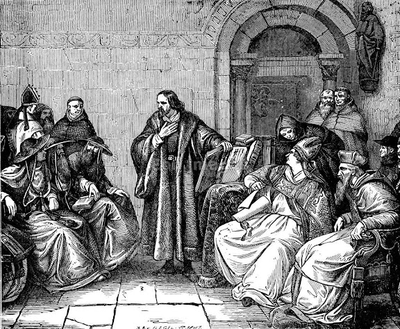 Jan Hus at the Council of Constance, 1415