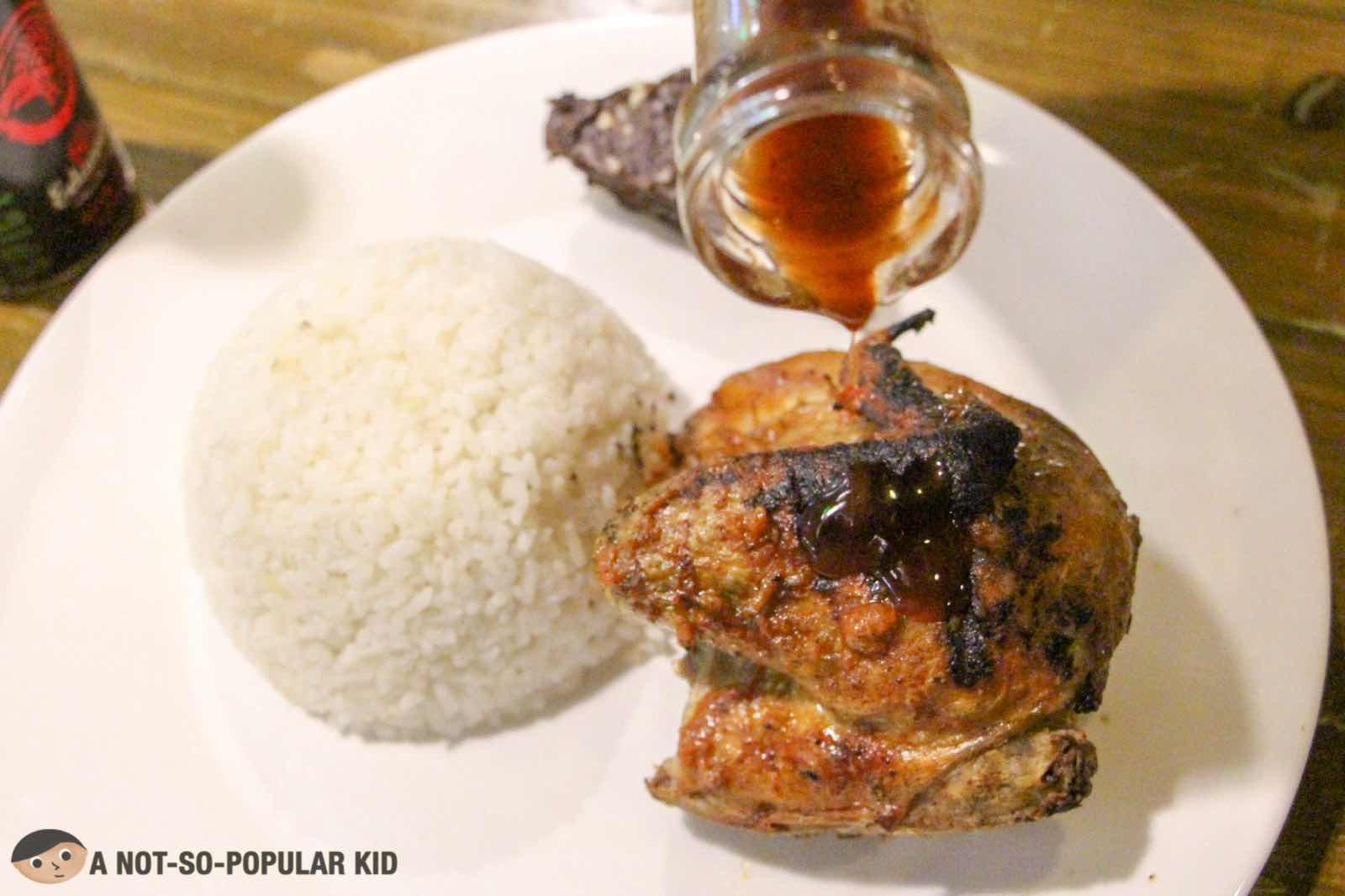 Quarter Chicken Meal of Eduardo's Peri-Peri