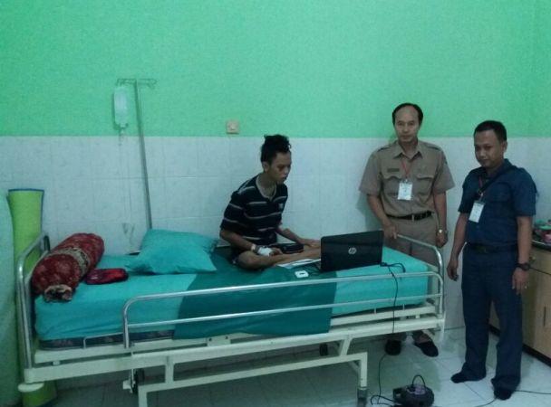 Gegar otak membaik, Siswa SMK di Ngawi jalani UN Sususlan