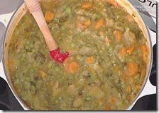 Minestrone di verdure con pesto
