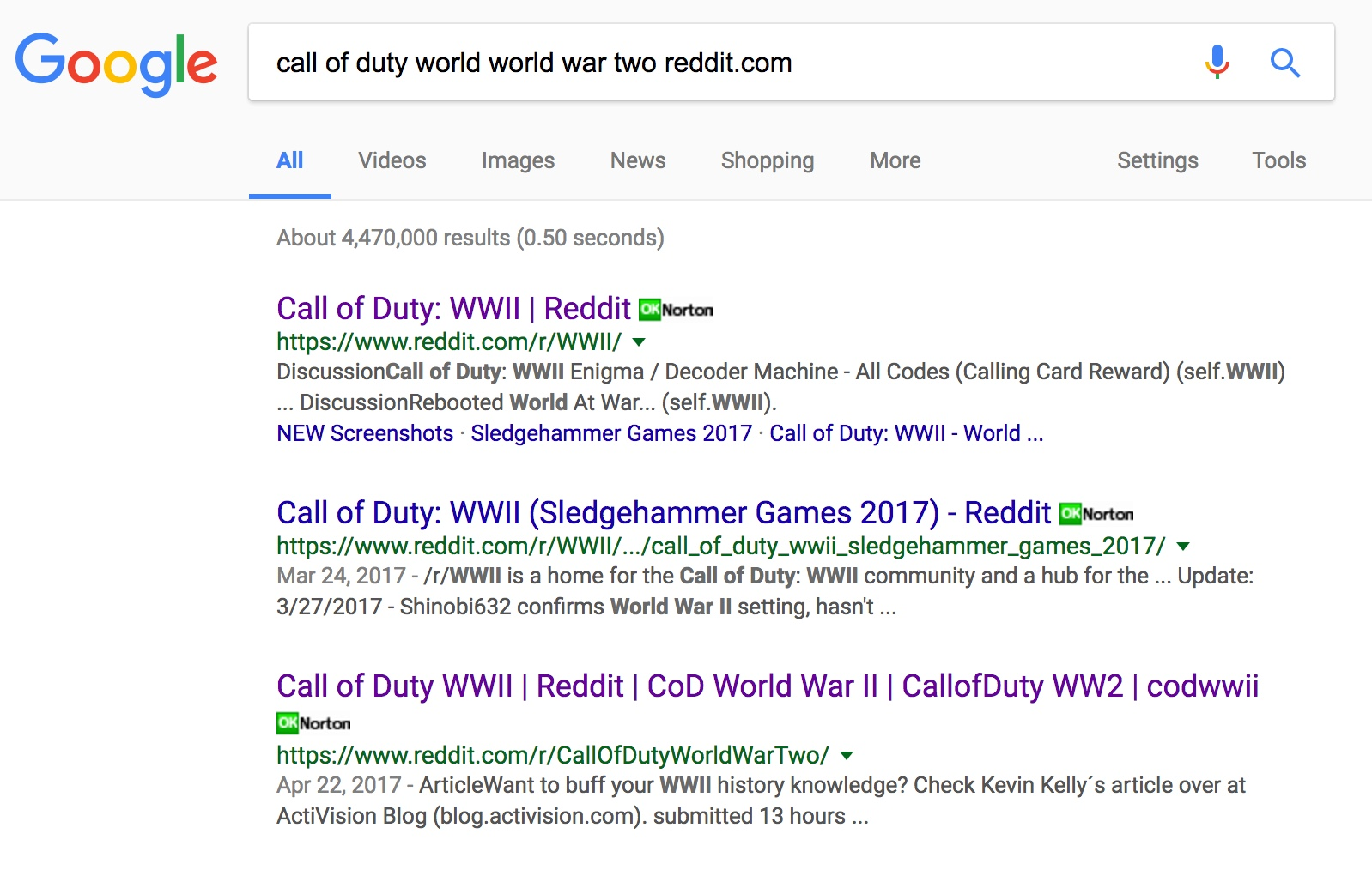 Search result for reddit on google - Google Search Help