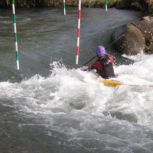 Stage de Toussaint kayak du YCGC