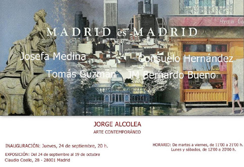 Madrid es Madrid se expone en Jorge Alcolea