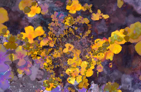 """The """"Joyous Meadow 2"""" piece from the """"2001"""" collection"""