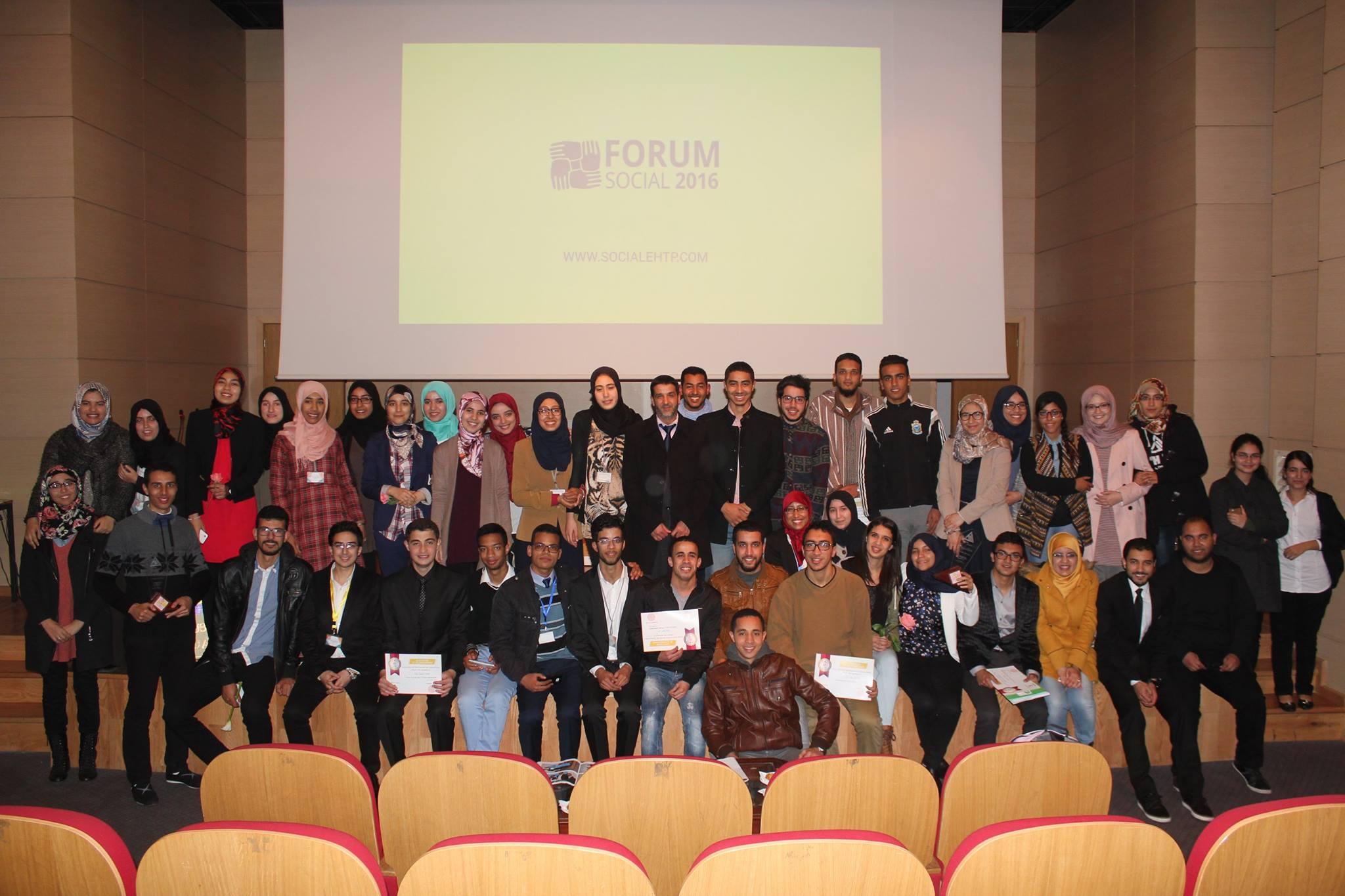 Forum des club sociaux 2016 - Club Social 2015-2016