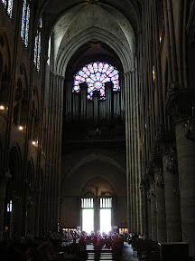Organ in Notre Dame