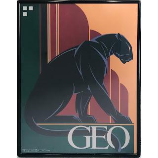 Nick Gaetano Signed 'Geo' Poster