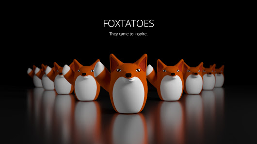 Foxtato_Render_2_Inspiration anyone else see the foxato comic meme circulating around? well, i