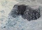 Aventino 4, Olio su tela, 70 x 100 cm 2010