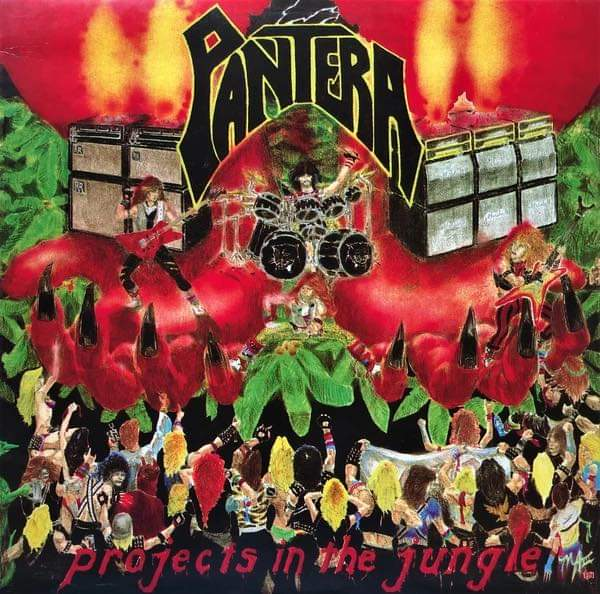 Pantera - Álbum Projects In The Jungle