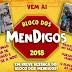 Bloco dos Mendigos será neste domingo dia 26 com Fabricity em Ruy Barbosa