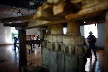 Antiguo trapiche de madera