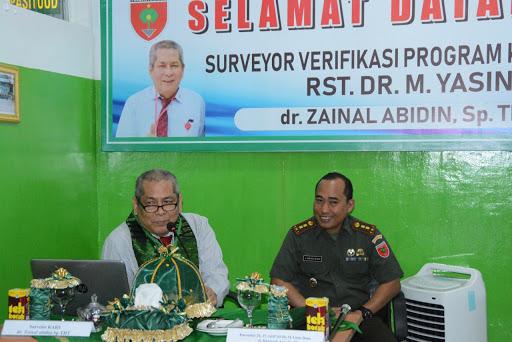 Tim Surveyor Verifikasi Program Khusus Datangi RS Dr M Yasin Bone